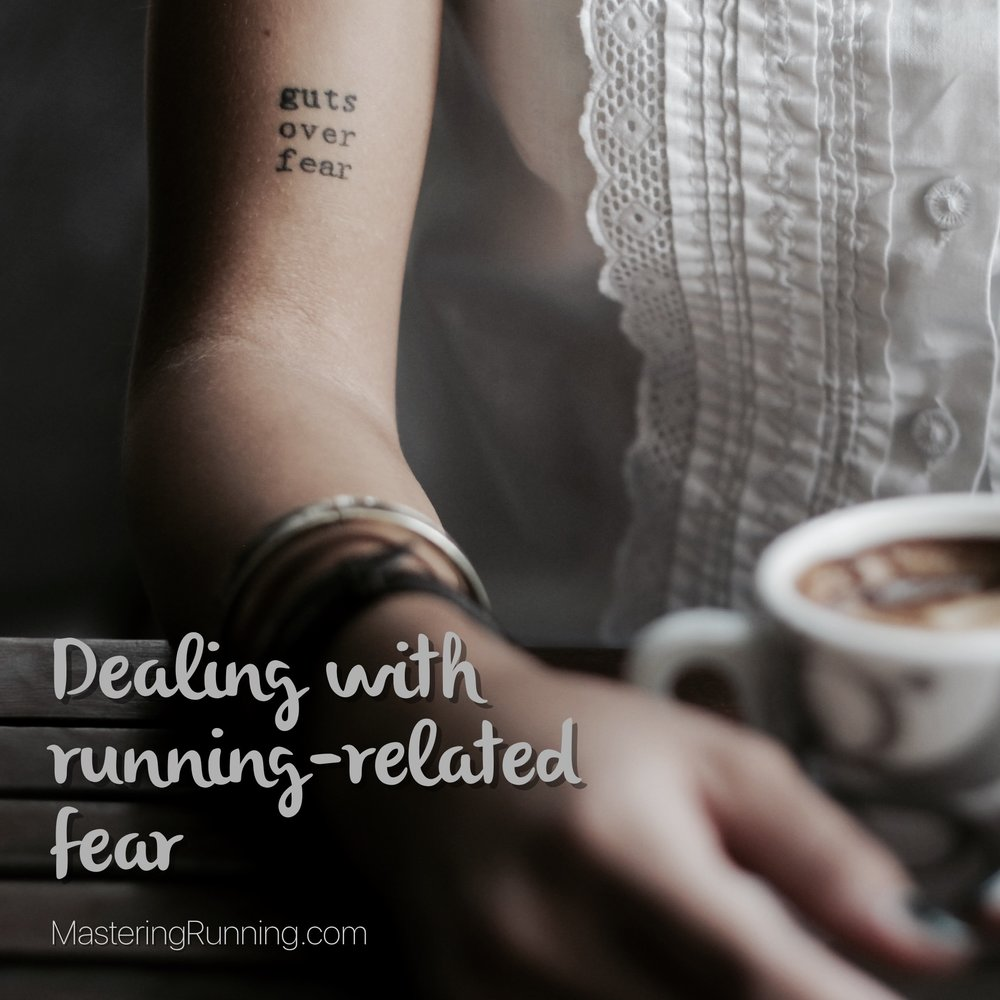 Confronting running-related fear