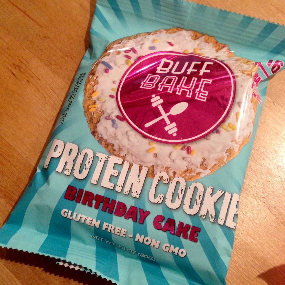 Buff Bake Protein Cookie, fully clad