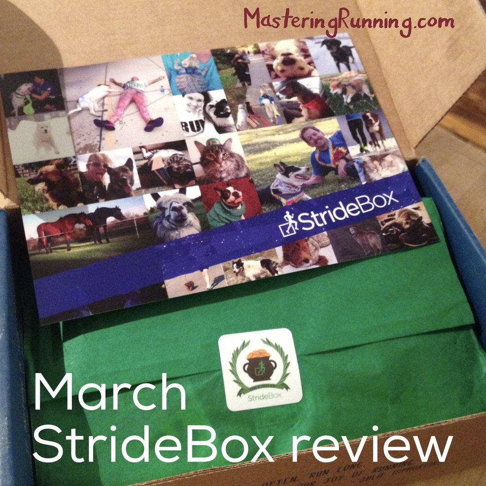 Stridebox review March 2017 MasteringRunning.com