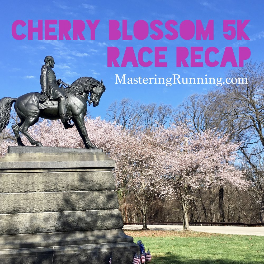 cherry blossom 5K race recap