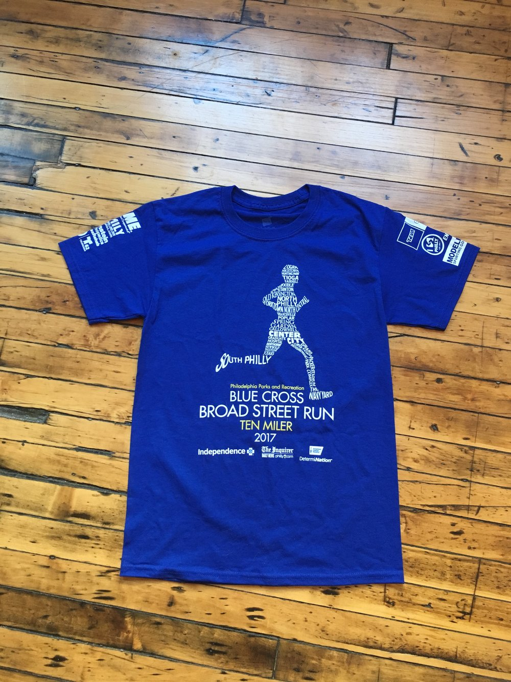 Nice design. Men's sizes only despite the fact that the majority of runners were women
