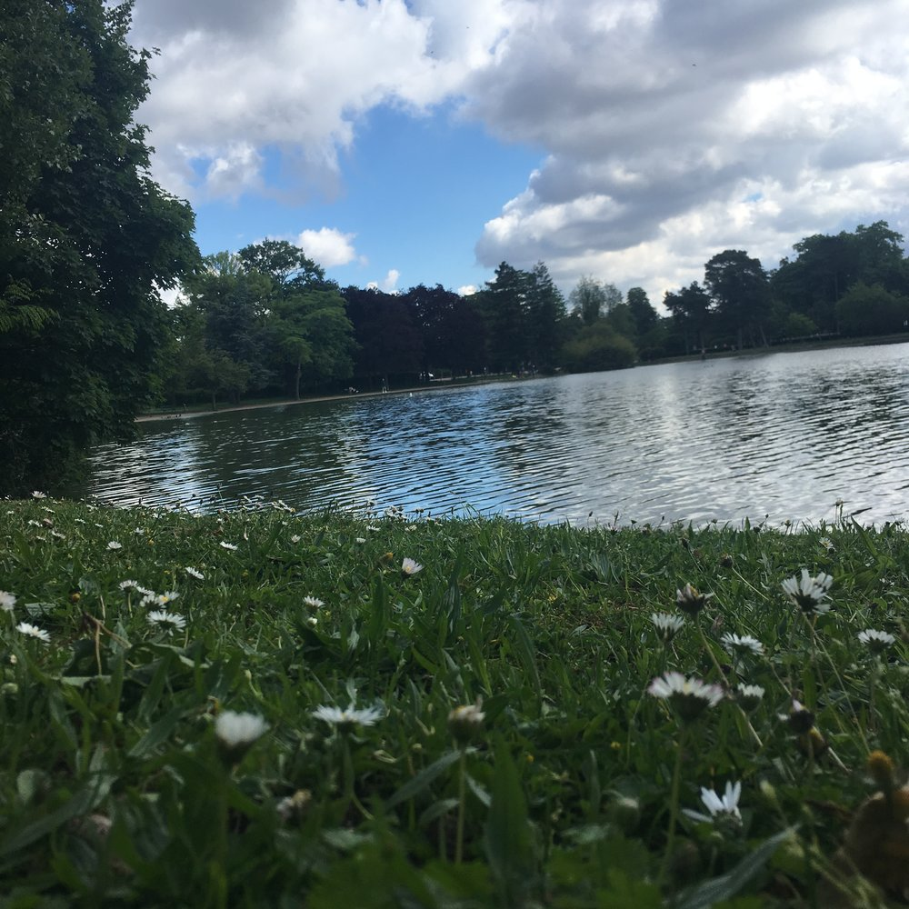 The Bois de Boulogne – a great park to run in, with endless routes, trails, and even cafes, so you can sit and hydrate afterward.