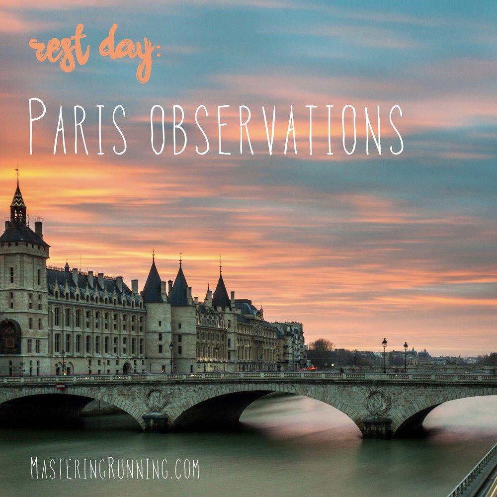 Paris observations masteringrunning.com