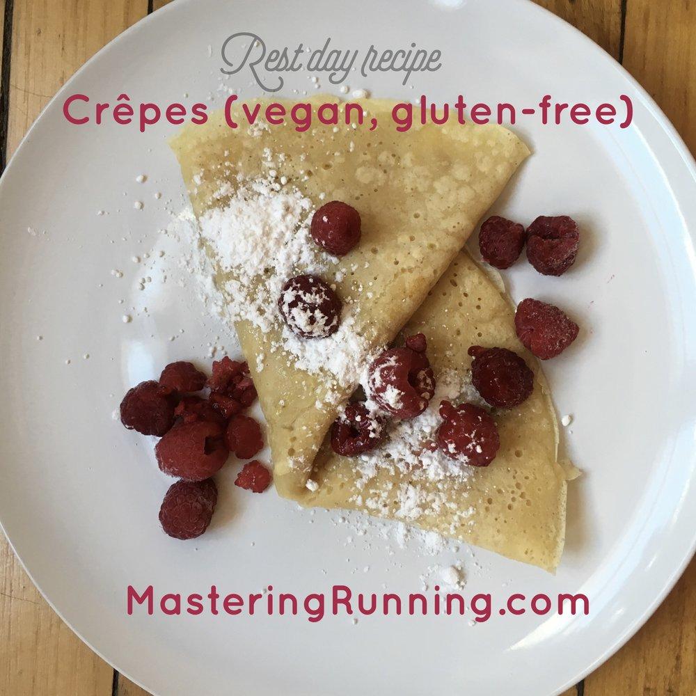 vegan gluten-free crepes masteringrunning.com