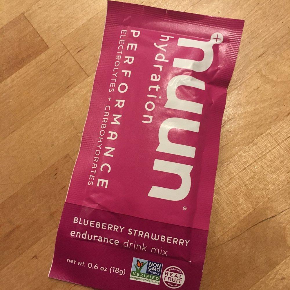 Nuun Endurance drink mix