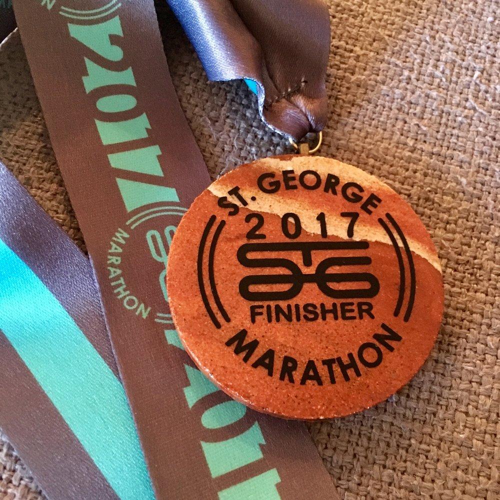 Coolest. Medal. Ever.