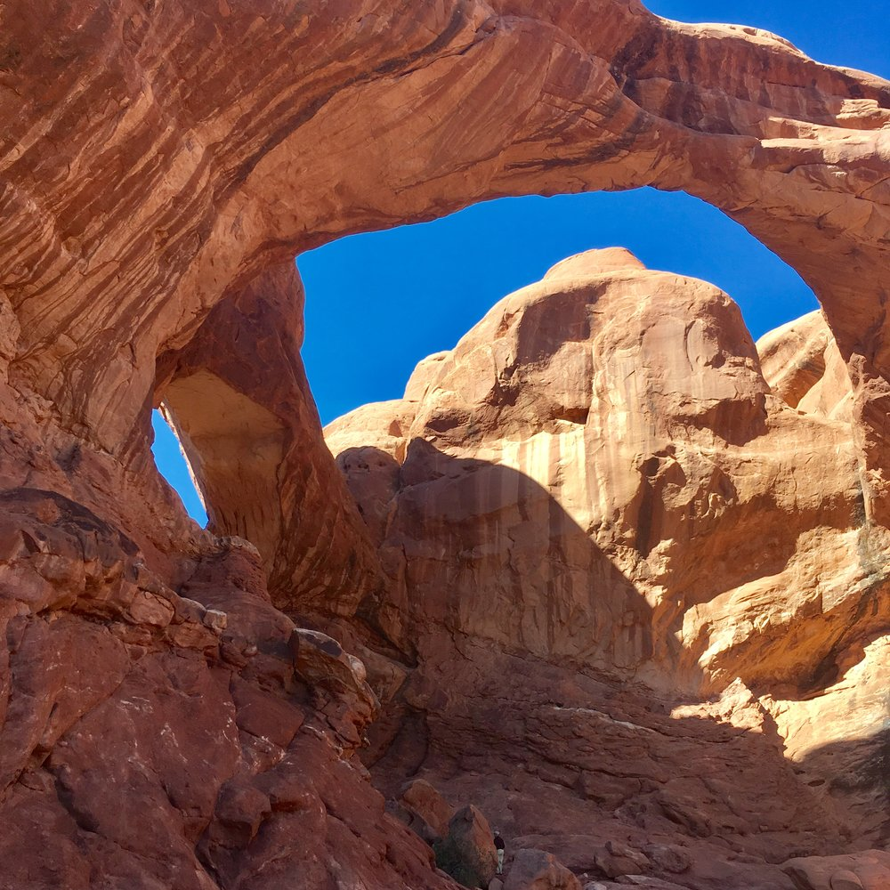 Arches - pretty but crowded.