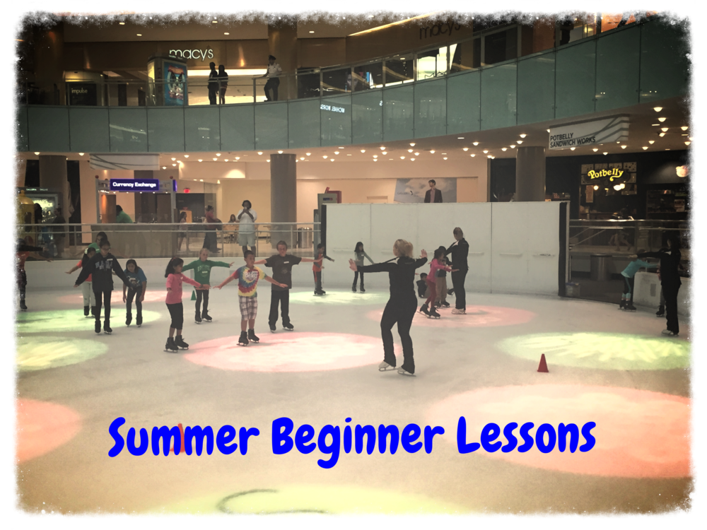Monday night Beginner skaters doing great during their first class!