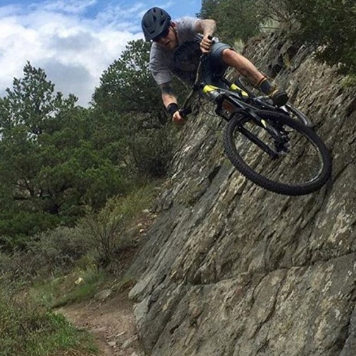 """Paul Lehr - Paul joins us from Moab this year bringing lots of wrenching knowledge and filling in the role of resident """"Tall Guy"""" for all of us short dudes.instagram @hot_beef_sundae"""
