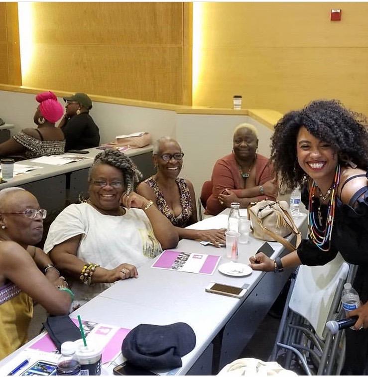 2018 BWHWC Key Note Speaker, Ebony Chambers
