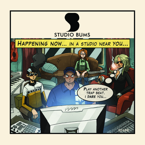 STUDIO BUMS®   sticker.  FREE with every   STUDIO BUMS®   online purchase.