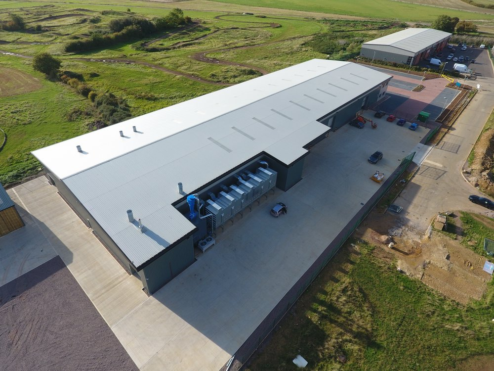 Our newly constructed manufacturing base in Market Harborough gives us 40,000 sq.ft. of custom built production space.