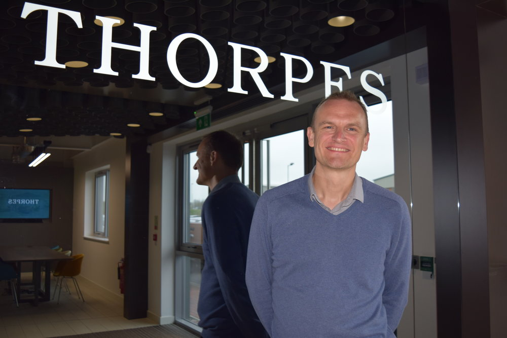 Simon Hobart becomes Financial Director at Thorpes Joinery