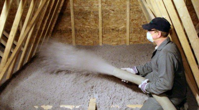 blown in attic insulation - Avalanche Contractors
