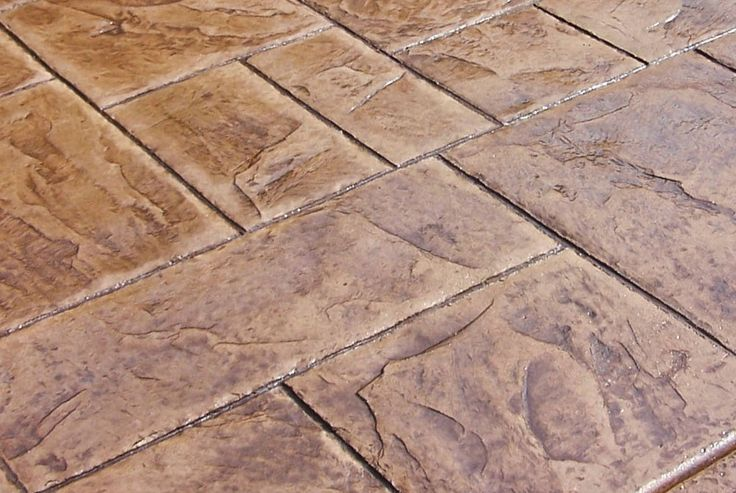 Stamped Concrete Patio Stained Concrete Patio Company