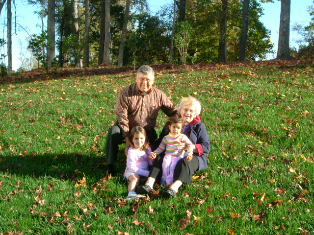 Great Grandchildren Laura and Audrey