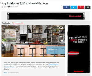 House Beautiful 2015 Kitchen Of The Year