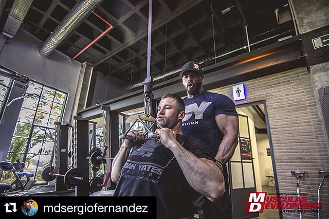 #Repost @mdsergiofernandez (via @repostapp) ・・・ Great day recording HIT DY course with my training partner @lewisyatespt and Master @thedorianyates great warrior and brother Irons  @dyhit  Photo  @albertolora_photo www.sergiofernandezcoach.com  Entrenador & experto en nutrición  #mdlatino #training #instafit #instagram #physique #aesthetic #aesthetics #abs #fitfam #ifbb #npc #bodypowerexpo #fitness #fitstagram #fitnessmarbella #fitnessaddict #grind #lifestyle #contestprep #bodybuilding #bodypower #ifbb #npc  #marbella  #dygym #youtube #flex #shredded