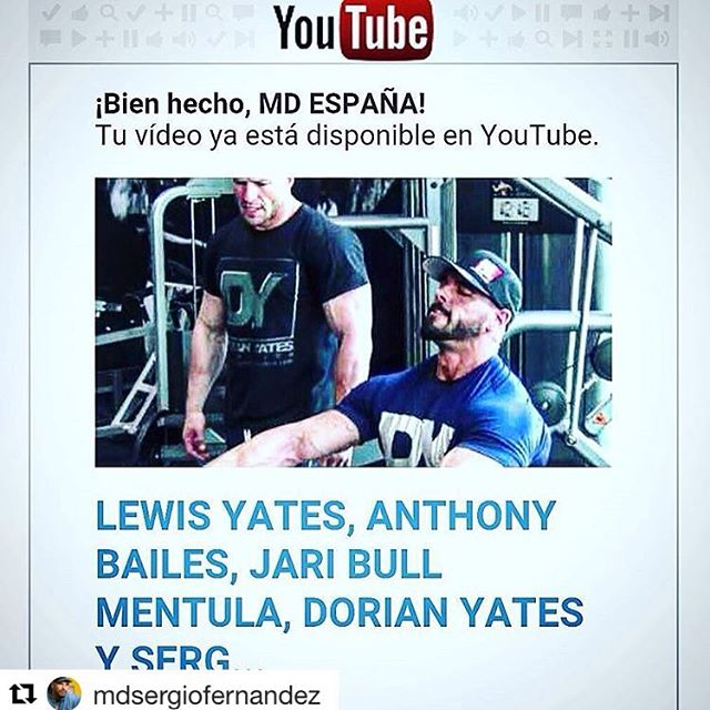 #Repost @mdsergiofernandez (via @repostapp) ・・・ Sin in My video Chanel www.youtube.com/user/SWDIRONMAN  Motivation https://youtu.be/a-WIyGdyQvU  #mdlatino #musculardevelopment #ifbb #ifbbpro #npc www.sergiofernandezcoach.com Trainer and nutrition expert #TempleGym #Birmingham #PersonalTrainer #LewisYates #Hardcore #Fitness #MMA #Speed #Physique #Abs #Iron #Body #Fighter #BodyBuilding #BodyBuilder #Mass #Muscle #HIT #DorianYates #MrOlympia