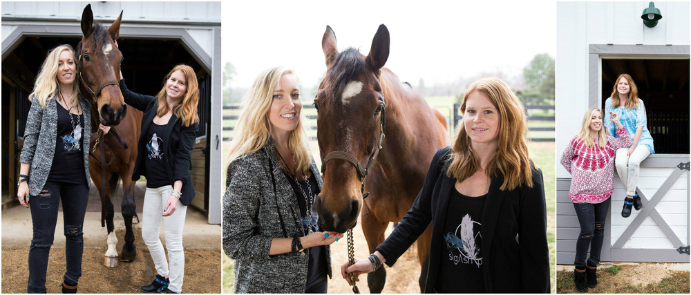 Creators Jennifer Gray Calcagno and Brittany Hartz, were born and raised on neighboring horse farms located in Virginia's Piedmont Hunt Country.