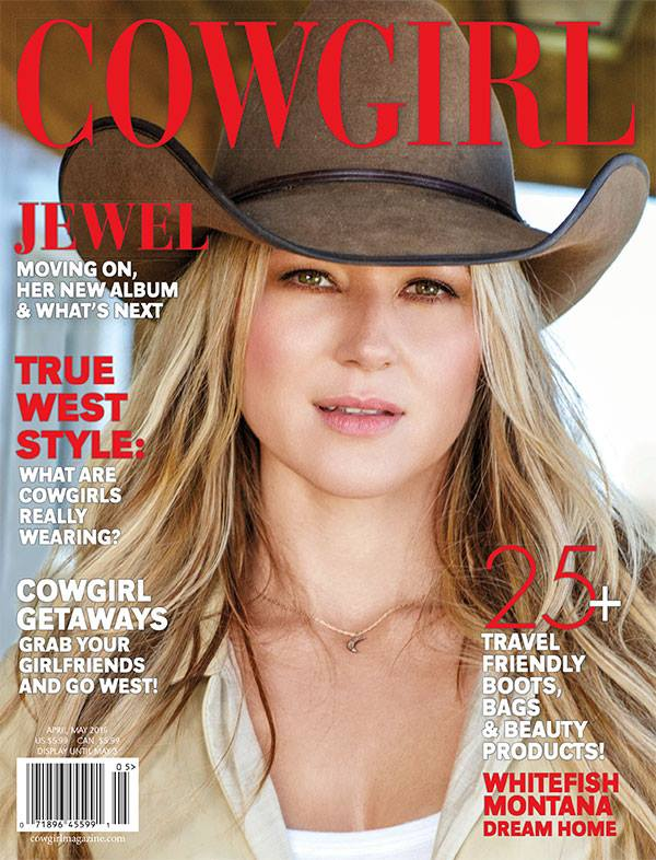 As Seen in COWGIRL MAGAZINE, April 2016 Issue
