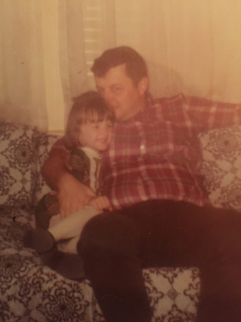 Dad & Me, around 1970