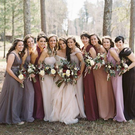3033fdb4 How to Style Mismatched Bridesmaid Dresses — Morheart
