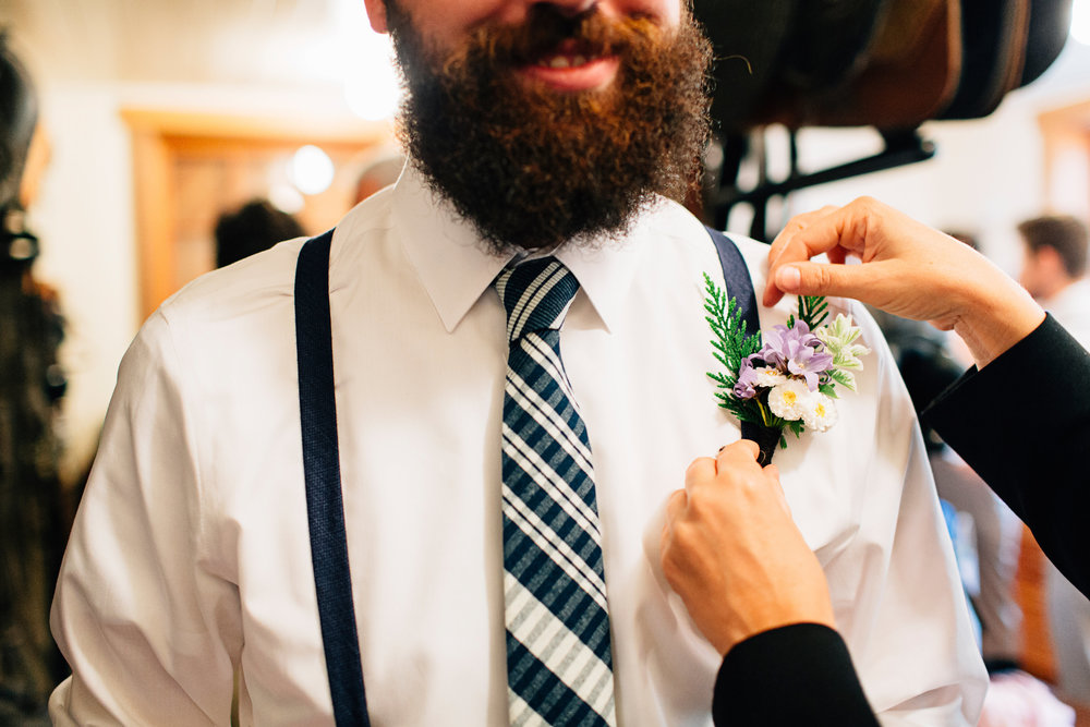 Early summer boutonniere   photo: Jeff Frandsen