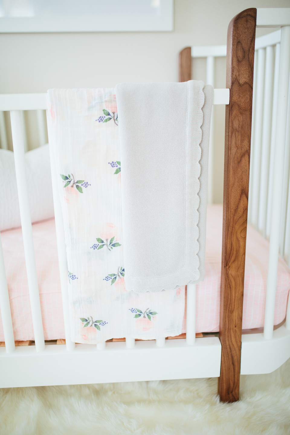 Baby Girl Nursery Detail - Akin Design Studio