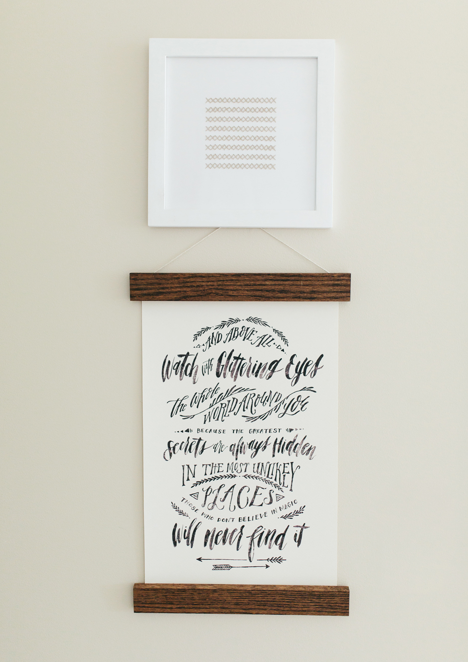 Baby Girl Nursery Art - Akin Design Studio