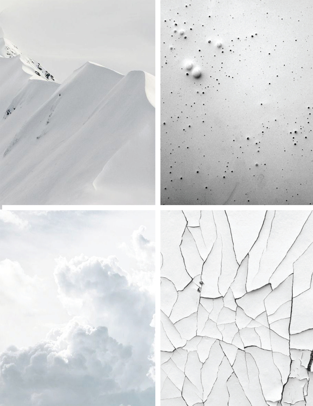 Winter Whites Inspiration | Akin Design Studio
