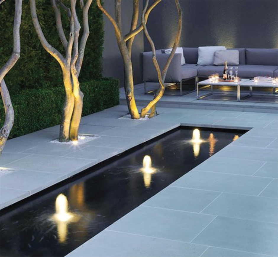 How to Light Your Outdoor Spaces - Accent Lighting  |  Akin Design Studio Blog
