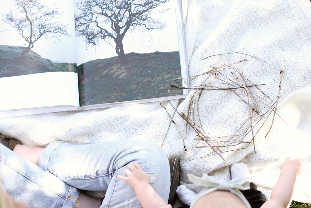 Andy Goldsworthy Abstract Art Book | Akin Design Studio Blog
