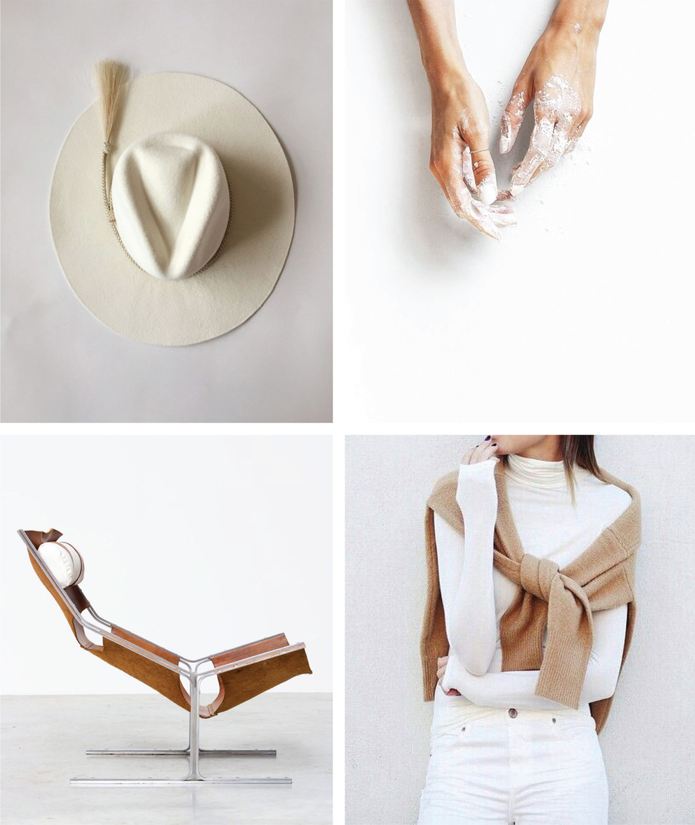 Clean and Simple Vibe | White and Tan color inspiration | Akin Design Studio Blog