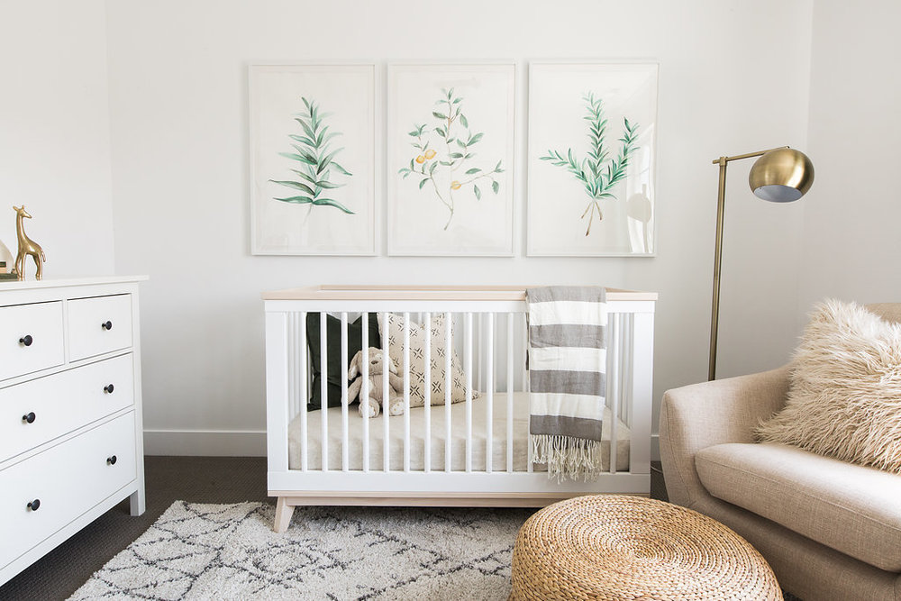 Akin Design Studio | Iron Horse Nursery - Fresh, collected, modern design