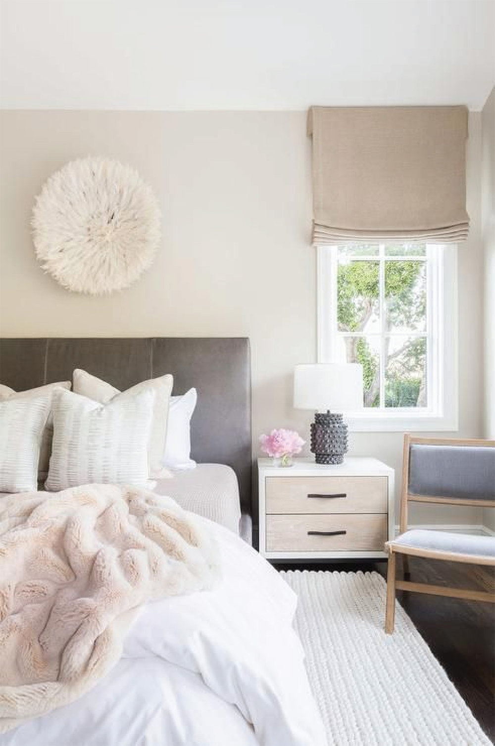 White Bright Bedroom Design | Akin Design Studio Blog