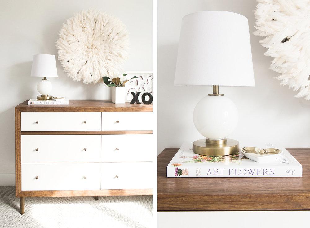 Modern Girlu0027s Nursery Design Details | Akin Design Studio