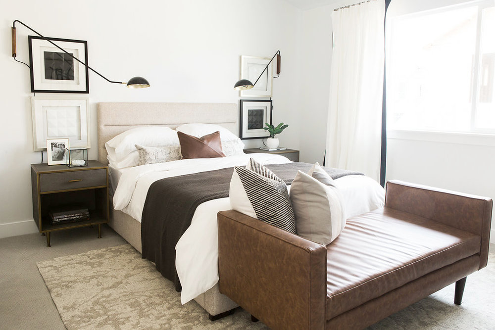 Minimal Modern Bedroom Design | Akin Design Studio