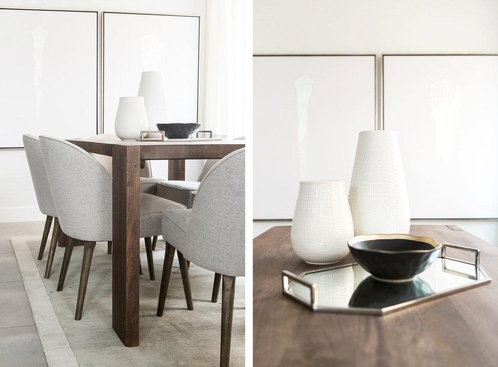 Minimal Modern Dining Room | Akin Design Studio