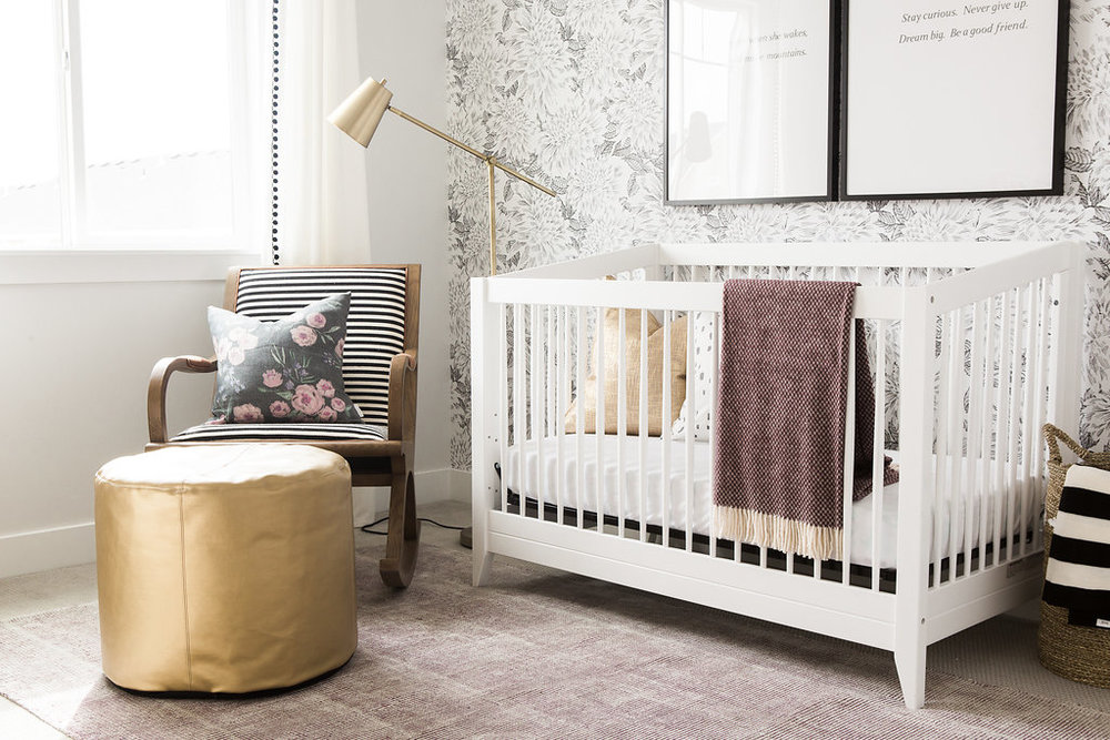 Girl's Nursery Design | Akin Design Studio