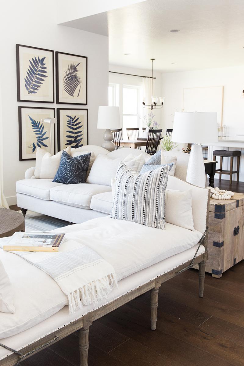 Classic farmhouse living room | Akin Design Studio