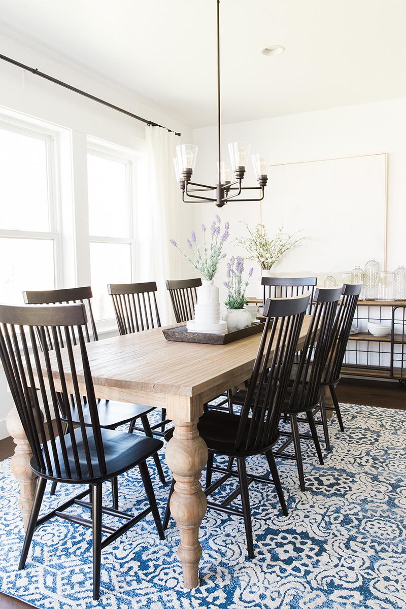 Farmhouse dining room | Akin Design Studio