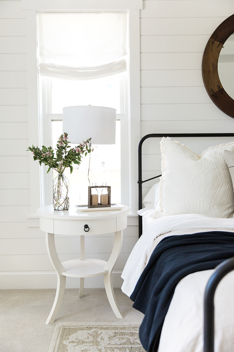 Farmhouse Master Bedroom Shiplap