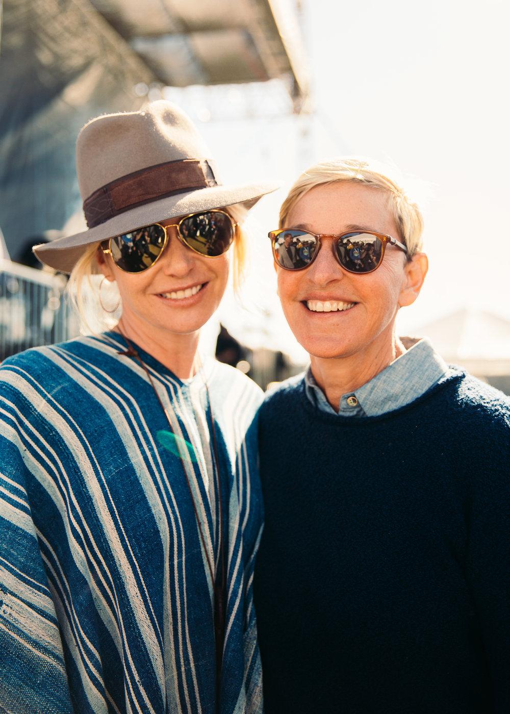 Ellen DeGeneres Portia de Rossi Christian Tierney.jpg