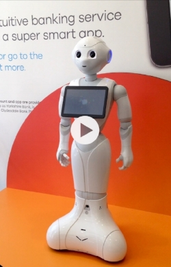 An audience with Pepper the humanoid robot - Banking as it should be ...