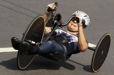 Karen Darke - The Women's time trial H1-3 gold medal champion at the Rio Paralympics.