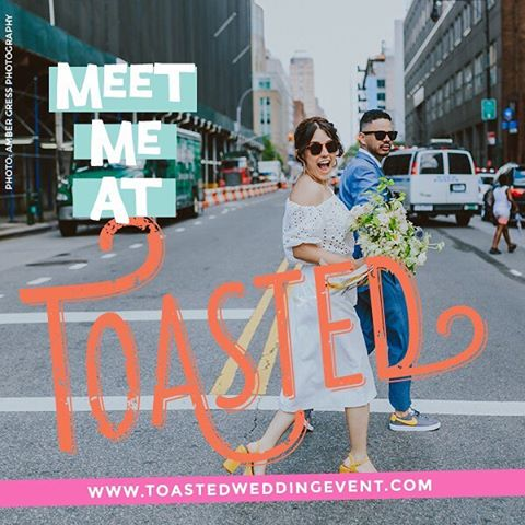 One year ago at Toasted, I launched my business, Dearly Beloved - officiating, vow writing and speech writing. Now, with six weddings under my belt as an officiant, a maid of honor speech, and a whole lotta love, I'm excited to meet the next flock of lovebirds tonight! Sharing my booth with the incomparable Dawn Mauberret and her business, Dawn Mauberret Events @dawnmauberret ! We'll have a flamingo ring toss 💍set up for you to win chances at event consultation, vow and speech consultation, or a photography session! Come on down and say hello tonight from 6pm-9pm at Dobbin ST 64 Dobbin St Brooklyn💗💗💗