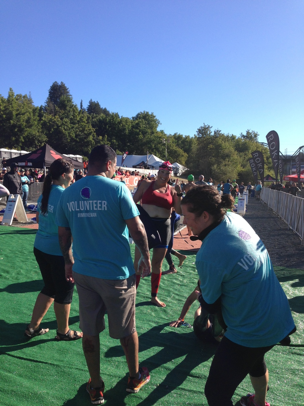 Carolyn Swim Exit Vineman 2016.JPG