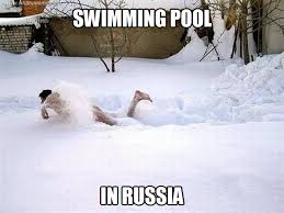 In Soviet Russia, pool swims in you!