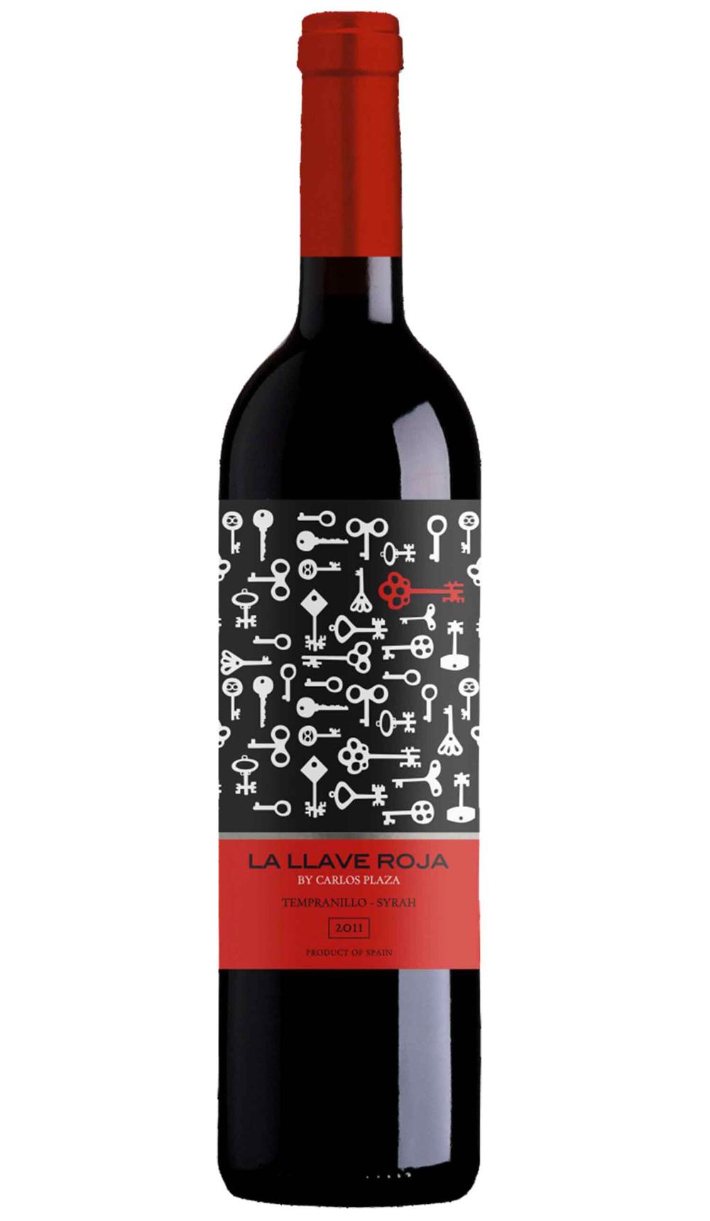 la llave roja, red wine, spain